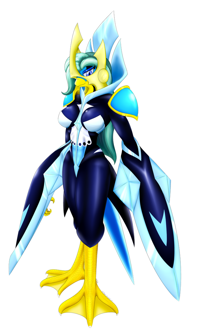 Piplup drawing empoleon costume. Rigelia by bludraconoid on