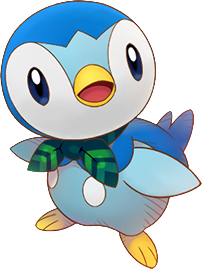 Piplup transparent. Pokemon super mystery dungeon