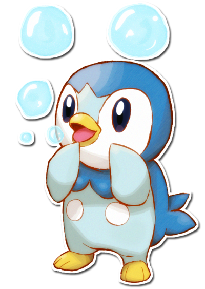 Piplup drawing cartoon4kids