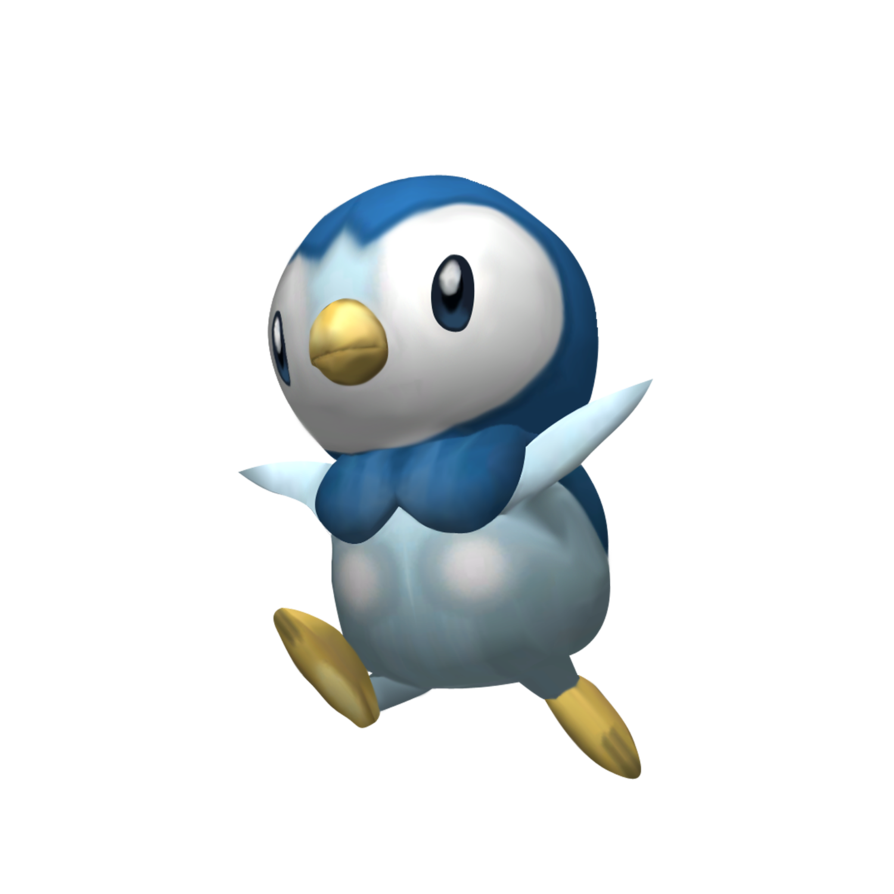 Piplup transparent. By mach on deviantart