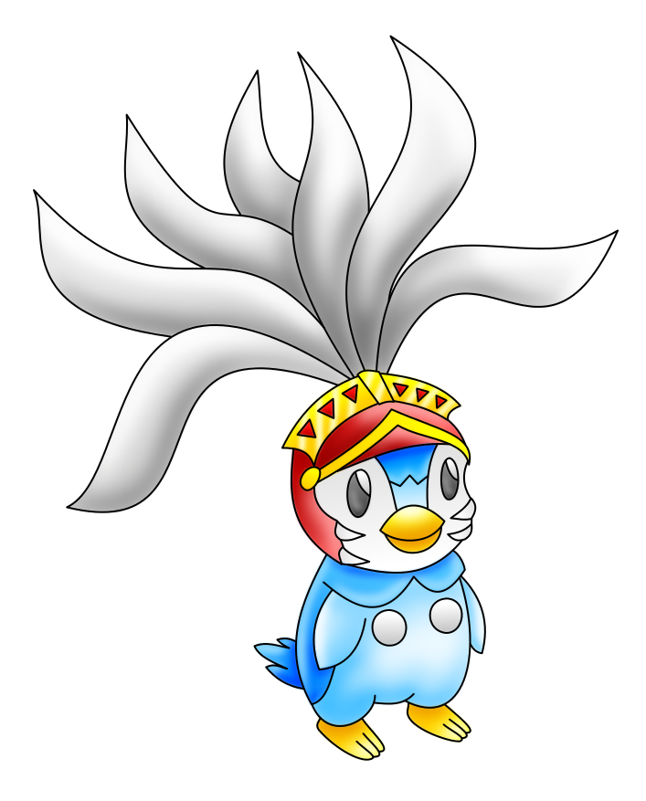 Piplup transparent deviantart. Knight pokemon colored by