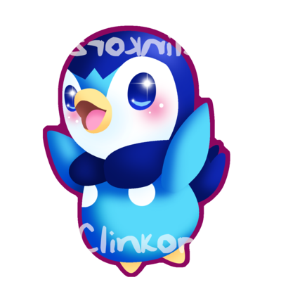 Piplup transparent deviantart. By clinkorz on
