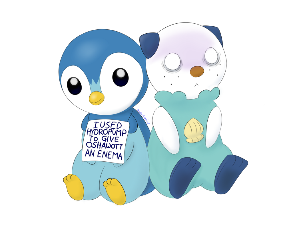 Piplup transparent deviantart. Pokeshaming and oshawott by