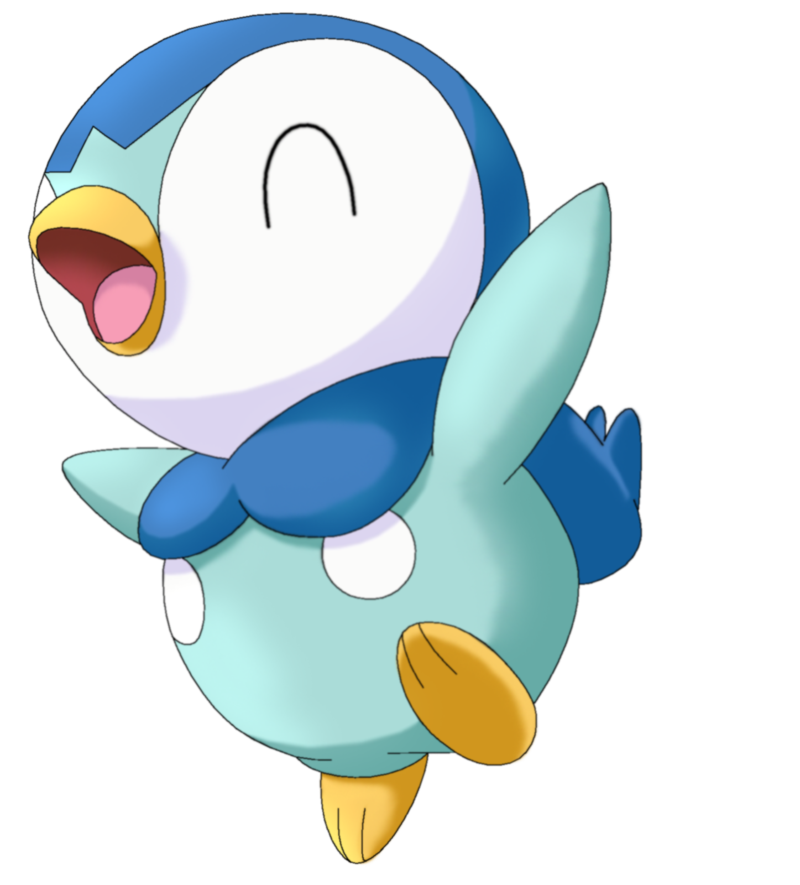 Piplup transparent happy. Pokemon by megbeth piplop