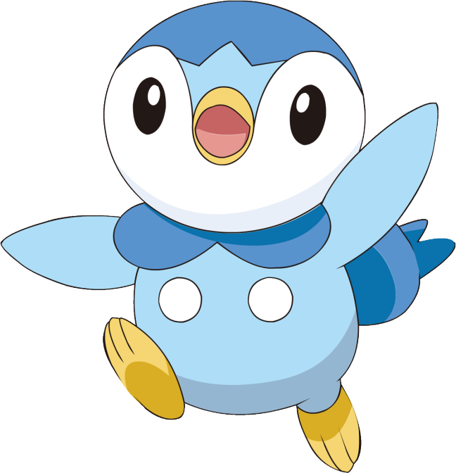Piplup transparent happy. World penguin day pok