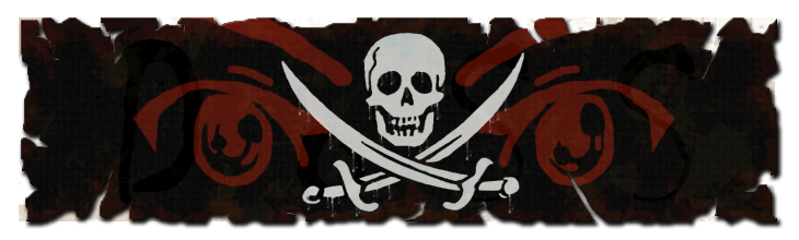 Pirate banner png. Review sea of thieves