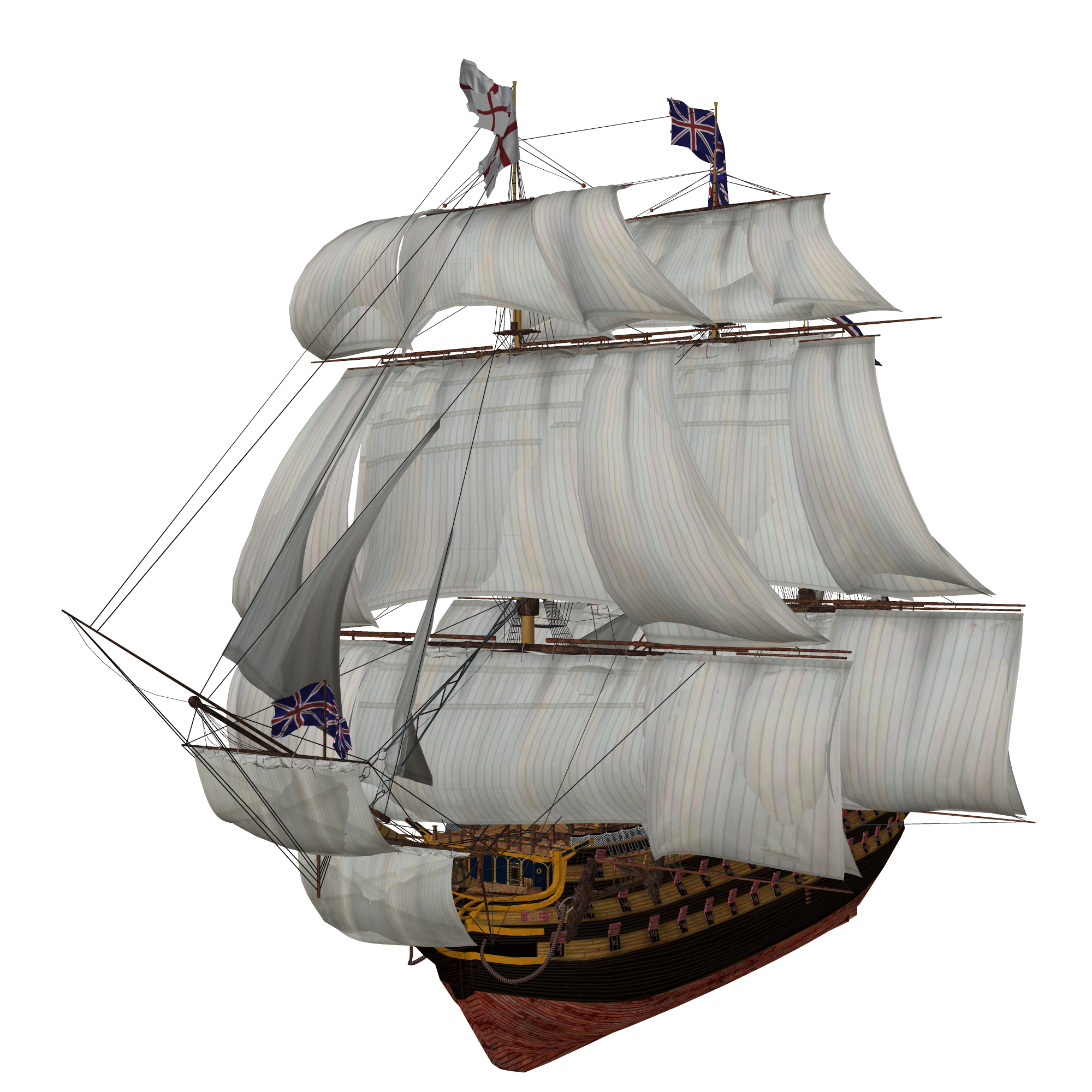 sailing vector tall ship