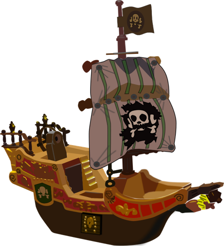 peter pan ship png