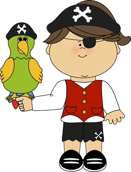 pirates clipart little boy
