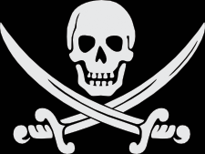 Pirate clipart pirate flag. Jolly rogers calico jack