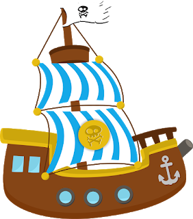 Pirate clipart scene. Jake and the neverland