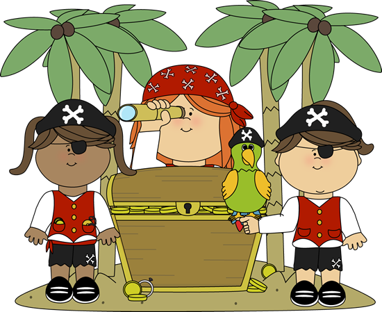 Treasure clipart found treasure. Free pirate pictures download
