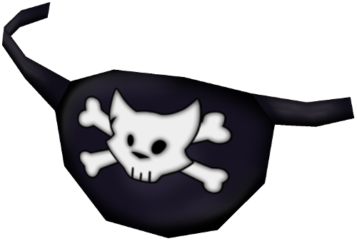 Pirate eye patch png. Image eyepatch toontown rewritten