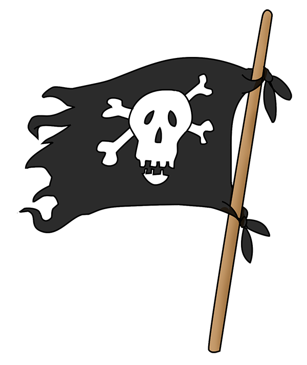 Pirate flag png. Image purepng free transparent