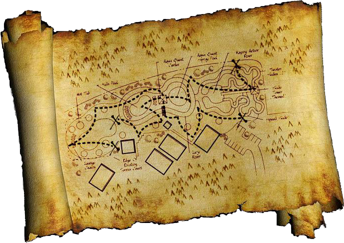 Pirate map png. Treasure psd official psds