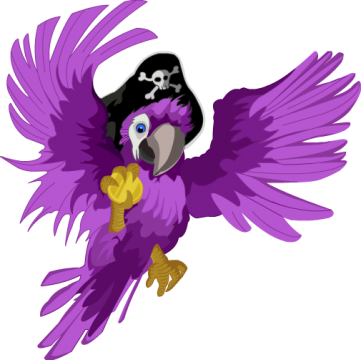 Pirate parrot png. File