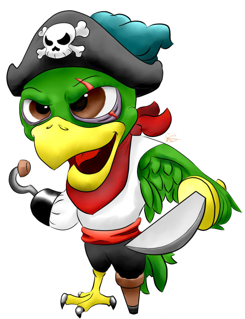 Pirate parrot png. Image mart