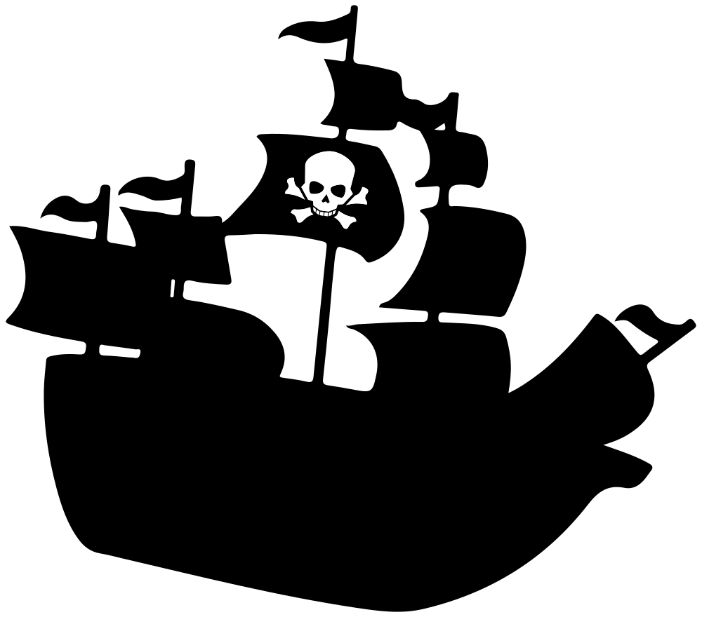 Pirate ship clipart png. Onlinelabels clip art silhouette