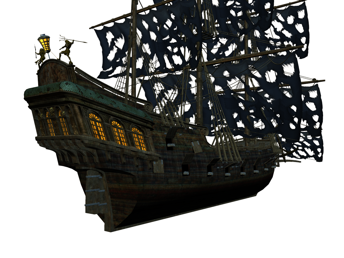 Pirate ship png. Stock a l by