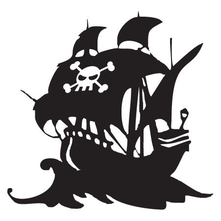 Pirate ship silhouette png. Photo