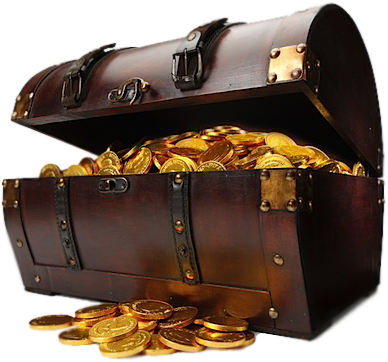 Pirate treasure chest png. Psd official psds share