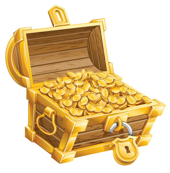 Pirate treasure chest png. Clipart picture clip pinterest