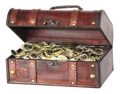 Pirate treasure chest png. Download free transparent image