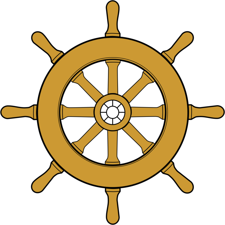 Pirate . Captain clipart ship wheel image stock