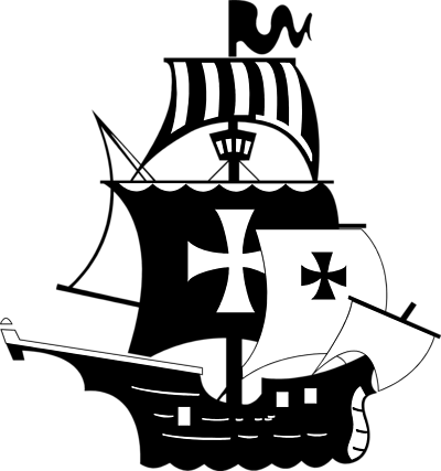 Transparent boats pirate. Free ship outline download