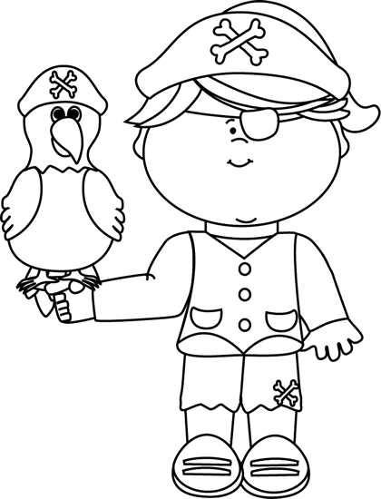pirates clipart outline