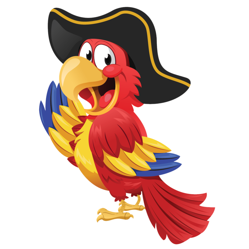 Scary clipart pirate. Download free png parrot
