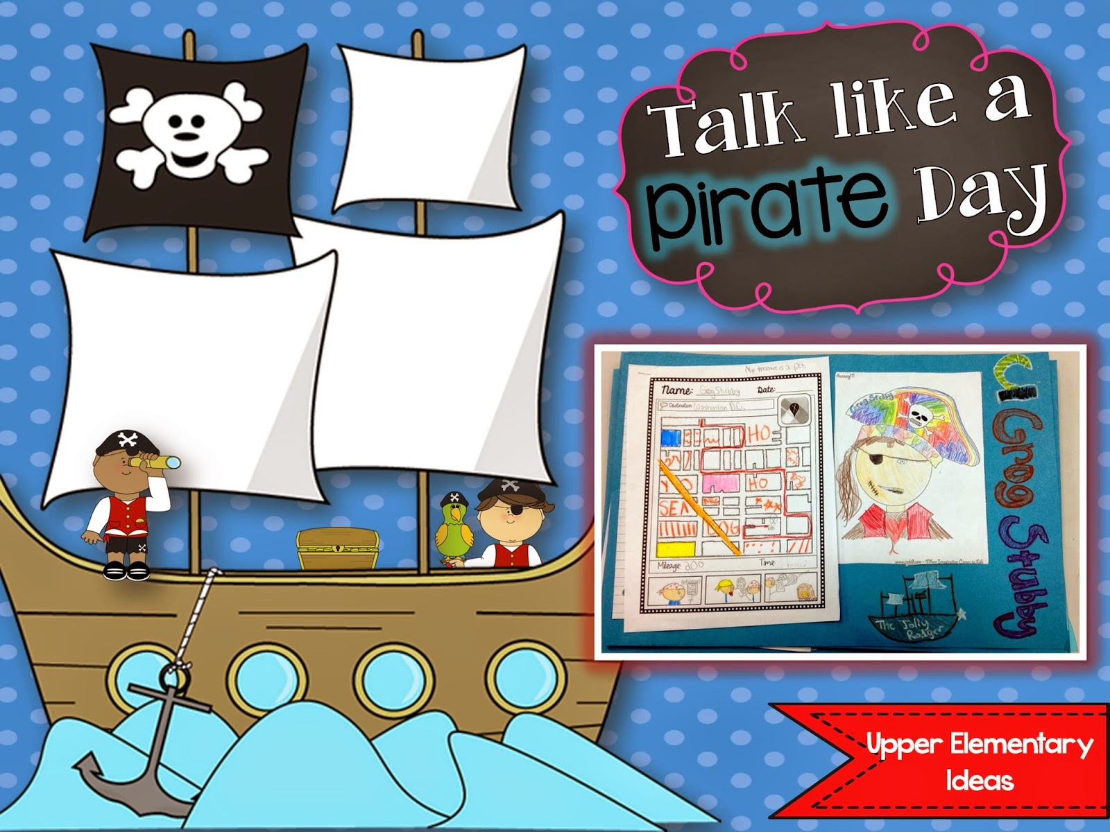 Pirates clipart talk like pirate. A day best ever