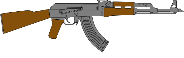 Rifle clipart. Clip art image library