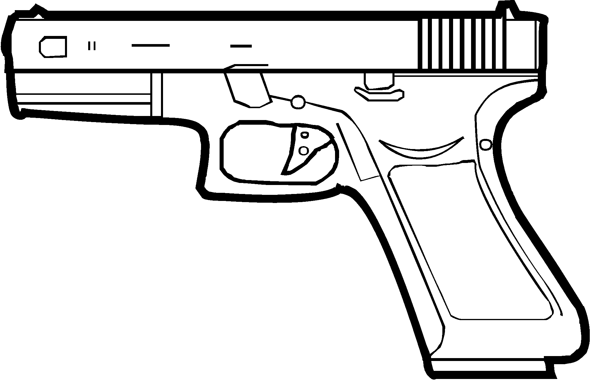 image drawing gun