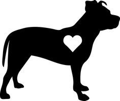 Pitbull clipart outlines. Pit bull cliparts co