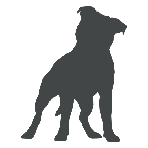Pitbull silhouette at getdrawings. Puppy svg vector picture library stock