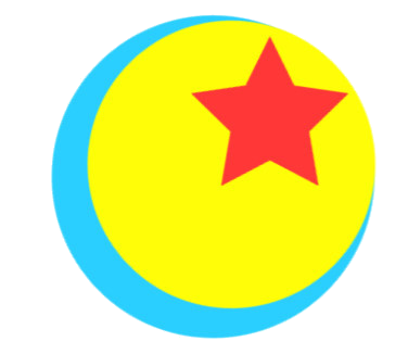Pixar ball png. Image side object shows