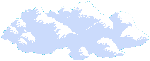 Pixel cloud png. Clouds open platformer wiki
