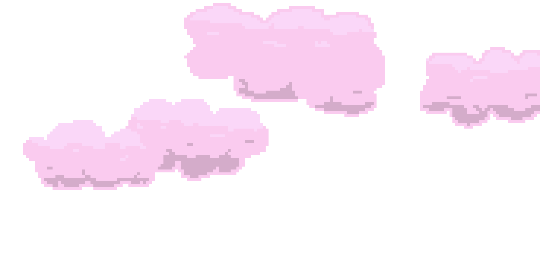 Pixel cloud png. Nine art maker