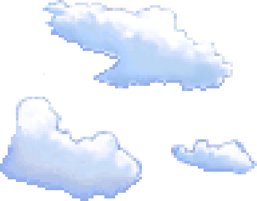 Pixel clouds png. Home cloud cream