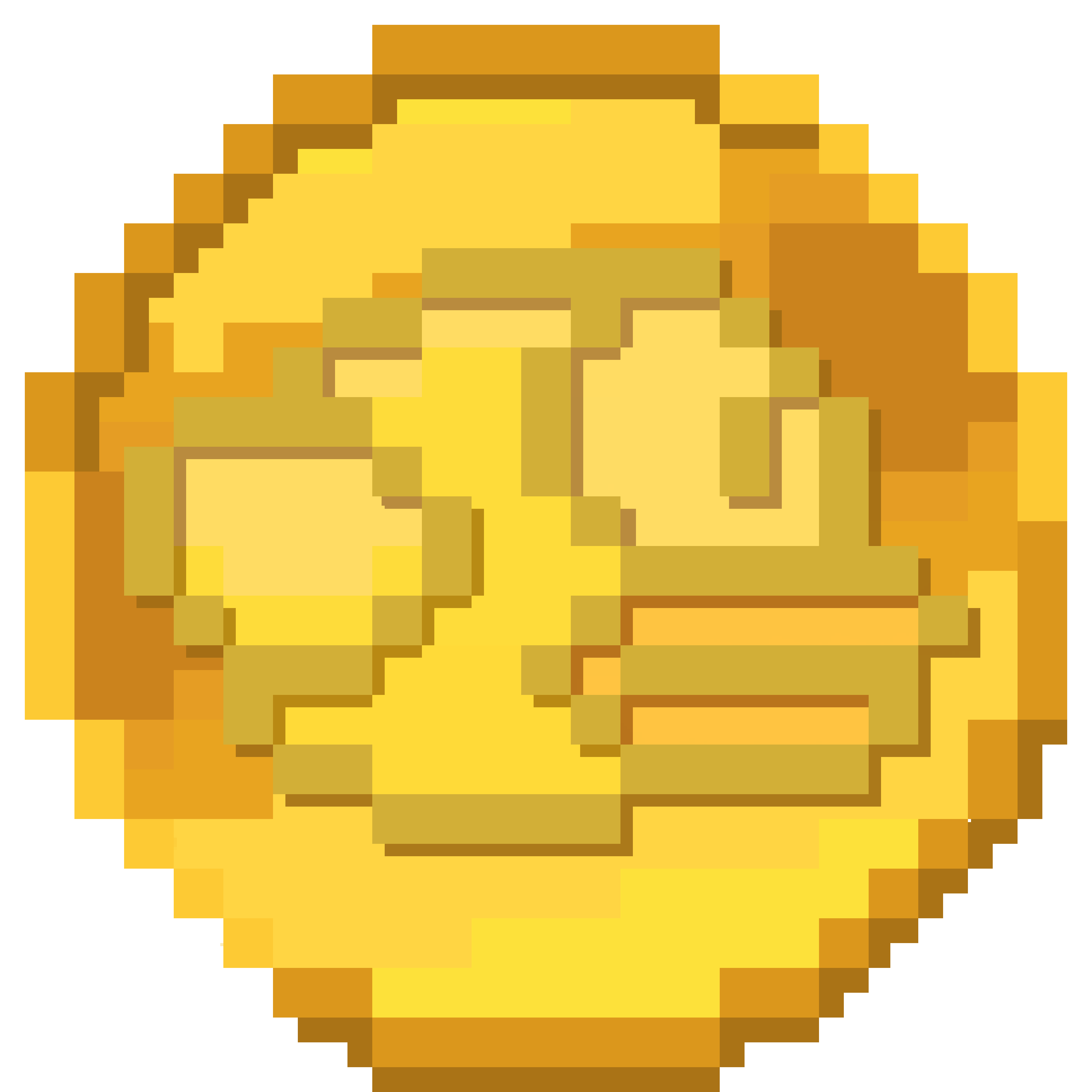 Pixel coin png. New logo for flappycoin