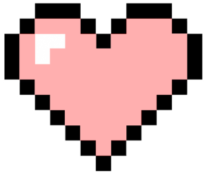 Pixelated heart png. Images about pixel