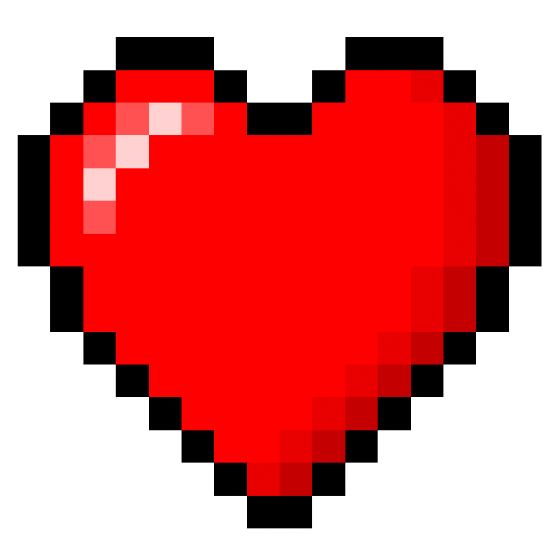 8 bit music note png. Image tumblr static heart