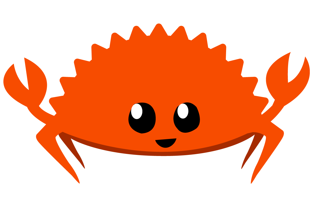 Pixelated crab png. Rustacean net home of