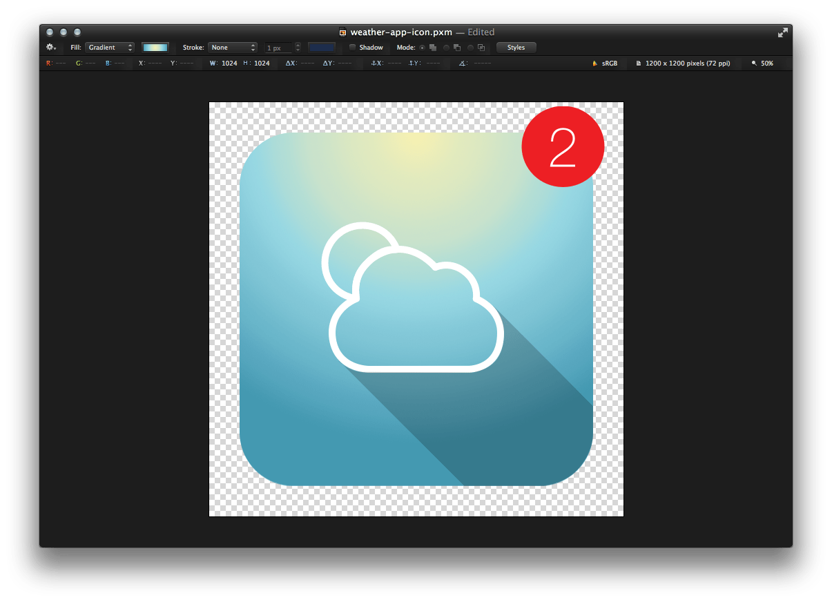 Tip how to design. Pixelmator vector clipart transparent library