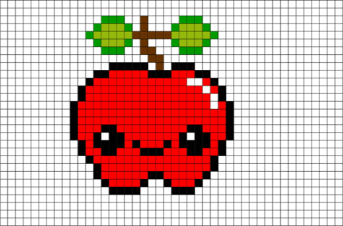 Pixels Drawing Fruit Picture 1150880 Pixels Drawing Fruit