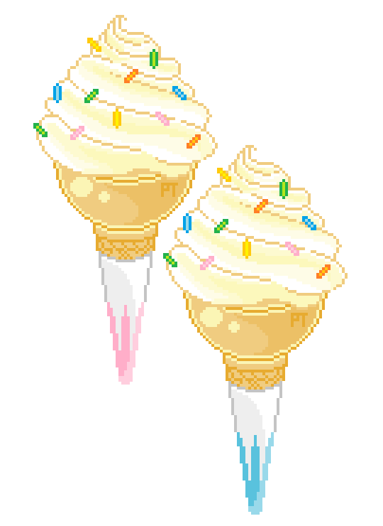 Pin by peachiiekeen on. Pixels drawing ice cream png freeuse download