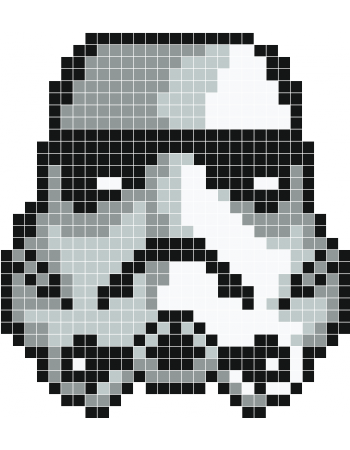 Pixels drawing star wars. Casque pixel art pinterest