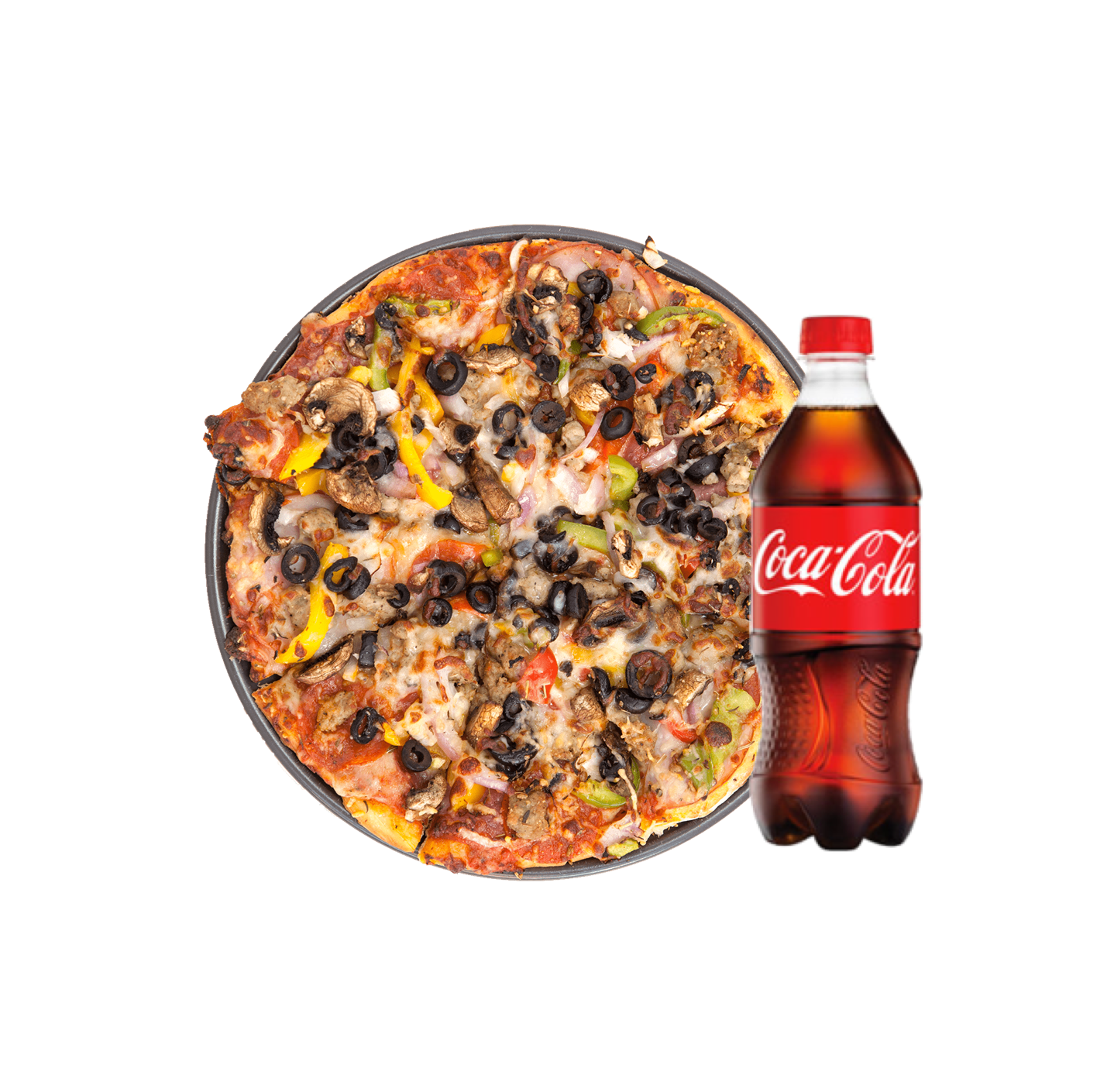 pizza and cold drink images png
