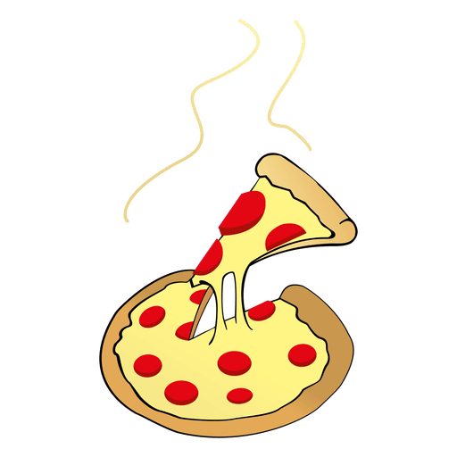 Pizza cartoon png. Cheese transparent svg vector